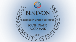 South Plains Food Bank - Benevon Sustainability Circle of Excellence