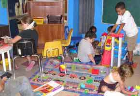 The Action Center - A space for kids to play