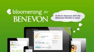 Donor Database, Bloomerang for Benevon