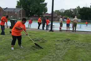 Volunteer project at Greater Niagara Frontier Council of Boy Scouts of America