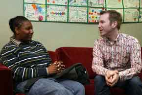 Counseling and support at Los Angeles Gay & Lesbian Center