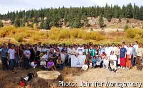Restoration site work group, Truckee River Watershed Council